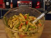 Shell Pasta And Veggies In Thai Yellow Curry Sauce